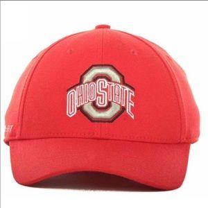 OSU Ohio State Buckeyes SWOOSHFLEX Fitted M/L Cap